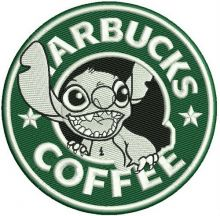 Starbucks coffee Stitch