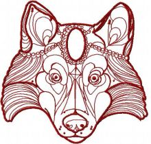 Tribal red wolf
