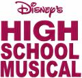 High School Musical logo embroidery design