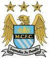 Manchester City Football Club embroidery design