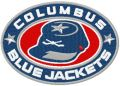 Columbus Blue Jackets logo embroidery design