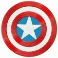 Captain America's round shield  embroidery design