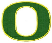 Oregon Ducks cap insignia