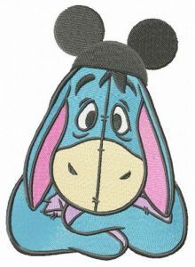 Mickey hat for Eeyore