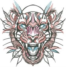 Tribal tiger 3