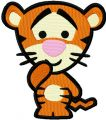 Disney Cuties Tiger embroidery design