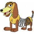 Toy Story - Dog embroidery design