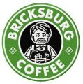 Bricksburg coffee embroidery design
