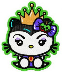 Hello Kitty angry queen