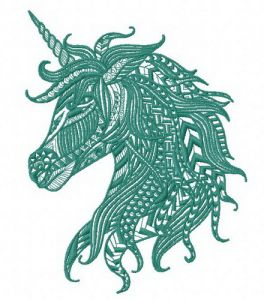 Mosaic unicorn 2