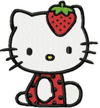 Hello Kitty Strawberry Costume