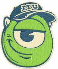 Mike Wazowski badge