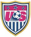 United States Soccer Federation logo embroidery design