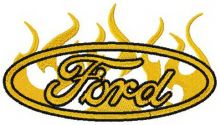 Ford flame logo