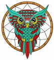 Owl dreamcatcher 2 embroidery design