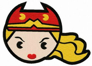 Chibi Wonder Woman head