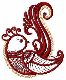 Firebird 7 machine embroidery design