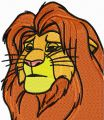 Lion King 1  embroidery design