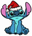 Stitch and Christmas Eve embroidery design