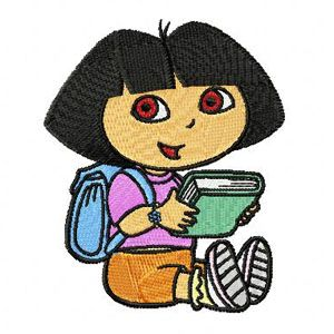 Dora the Explorer with Book