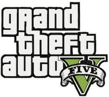 Grand Theft Auto five logo
