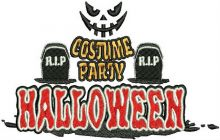 Happy Halloween costume party 2