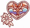 Brooches embroidery design