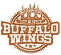Buffalo wings embroidery design