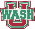 Washington University Bears embroidery design
