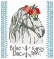Romantic horse 7 embroidery design