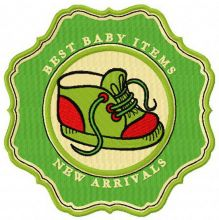 Best baby items New arrivals badge