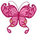 Butterfly free embroidery design 24