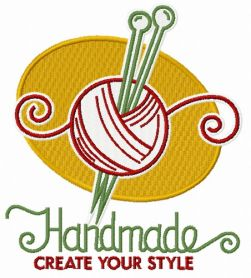 Handmade Create your style machine embroidery design