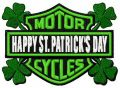 Happy St. Patrics Day embroidery design