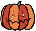 Halloween pumpkin free embroidery design