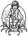 Hiccup Horrendous Haddock III sketch embroidery design