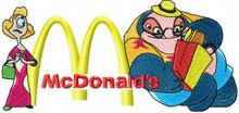 Dr. Jumba Jookiba and McDonalds Logo