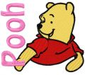 Winnie Pooh 5 embroidery design
