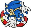 Sonic the Hedgehog - I Like Game  embroidery design