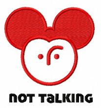 Not talking Mickey