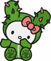 Hello Kitty Tokidoki 1 embroidery design