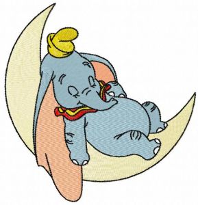 Sleeping Dumbo