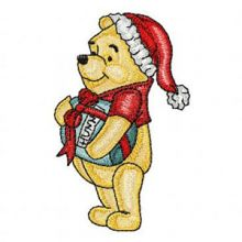 Winnie Pooh Gets Ready for Christmas