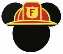 Mickey Mouse firefighter