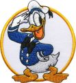 Donald Duck Captain embroidery design