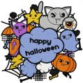 Happy Halloween 2 embroidery design