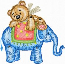 Teddy Bear and Elephant