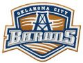Oklahoma City Barons logo embroidery design