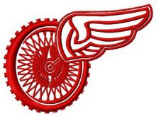 Winged wheel