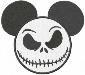 Mickey Jack Skellington